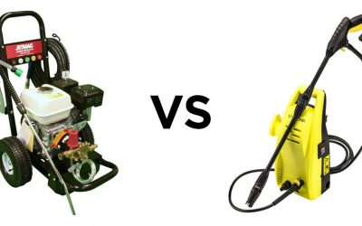The Difference Between Petrol and Electric Pressure Washers